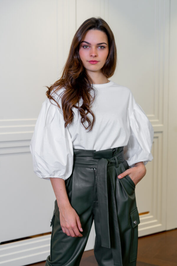 Shirt met pofmouw wit See By Chloé