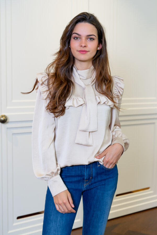 Beige blouse See By Chloé